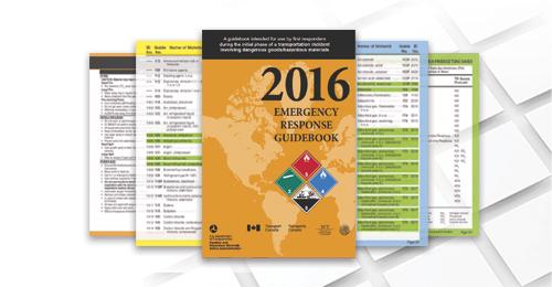 DOT Emergency Response Guidebook – $9.95