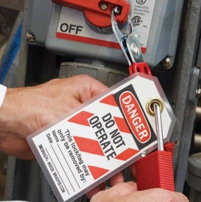 Control of Hazardous Energy (Lockout/Tagout) – $14.95